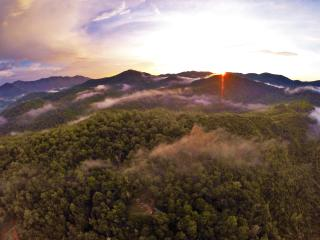 Smawlie - A secluded peaceful mountain retreat!, Nantahala Township