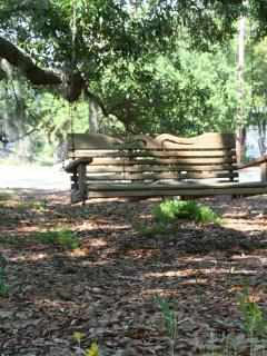 Relax under the Live Oak.