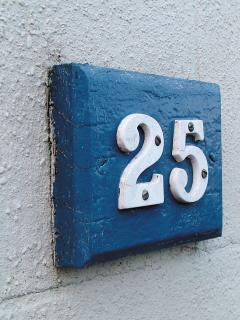 The original house number that keeps character, and gives us our name!