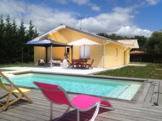 L'Océane - Jacuzzi et piscine chauffée, Mimizan