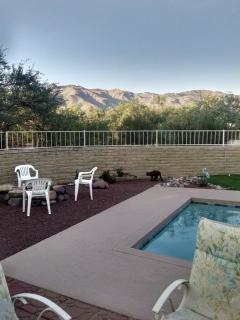 fire pit and mountain views home sits on 2 acres of land