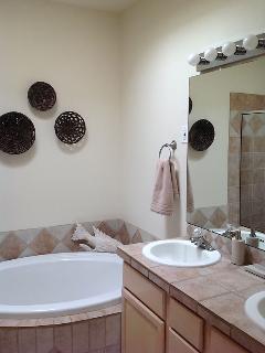 Master Bath, Shower and Soaking Tub