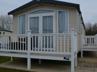 Luxury holiday home at Haven holiday village, Hopton on Sea