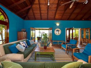Expansive Doors Allow the Warm Breezes of the Caribbean Blow Gently Throughout the Great House.