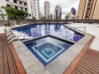 Luxury Morumbi apartment with private HOT jacuzzi