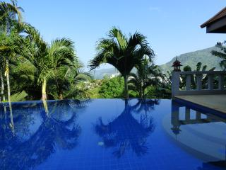 villa in patong with sea view and edge pool