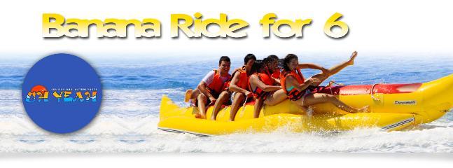 water sports in Ghadira bay