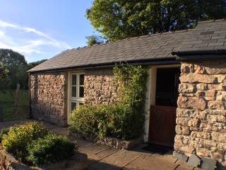 Highlands Cottage | apple orchard | Wye Valley | south-facing terrace