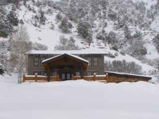 HILLSIDE MOUNTAIN CHALET WITH AMAZING VIEWS, NEAR DOWNTOWN AND HOT SPRINGS POOL!