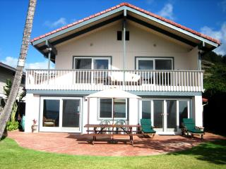 Private Beachfront Estate with Sun Deck, Picnic Table, Lounge Chairs and Gas BBQ