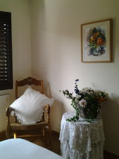 Detalle del dormitorio principal.