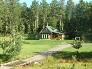 Little Elk Cottage in Scenic Vanocker Canyon on 5 Lush Acres - Sturgis 12 Miles!
