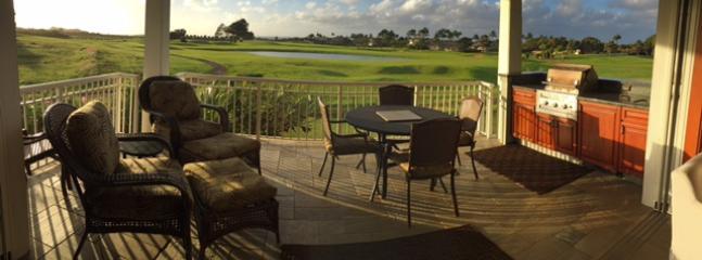 Hale Nene Poipu Vacation Home: 3 bedrooms, pool, AC, ocean, sunset views.