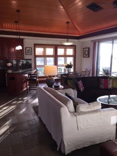 Hale Nene Poipu Vacation Home: private luxury home, AC, pool, stone floors.