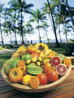 Enjoy the wonderful tropical fruits