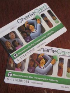 Charlie Cards to start you on your way!