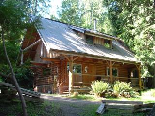 Little Log Cabin, Pender Island
