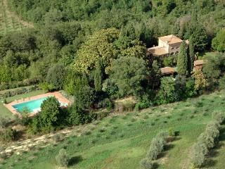 Tuscan private villa with large pool and  garden