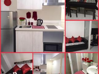 Azure Condo Unit Red Room