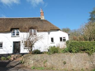 Thatched country cottage on the edge of Minehead