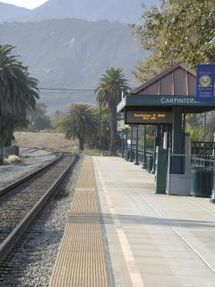 Carpinteria Train Station.