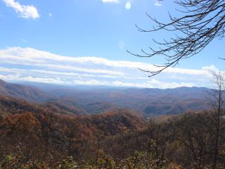 Fall has arrived in   the Blue Ridge Mountains