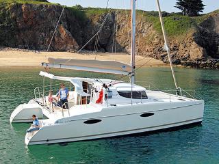 Croisière Antilles catamaran Mahé 36, Le Marin