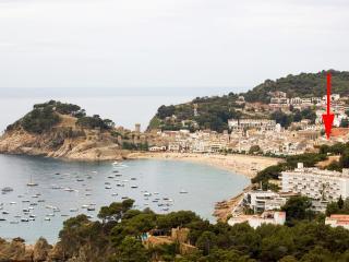 Apartamento 8 plazas con piscina a 150m playa, Tossa de Mar