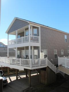 Front of Family Beach House