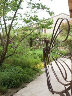 détail de votre jardin privé