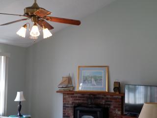 Living room vaulted celings