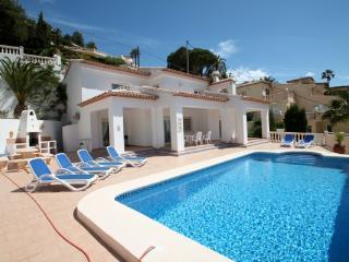 Sesam - sea view villa with private pool in Moraira
