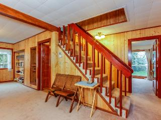 Dog-friendly, riverfront home with a seasonal dock & outdoor firepit!