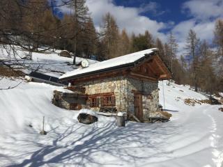Baita per vacanze in Trentino, 8 posti letto.