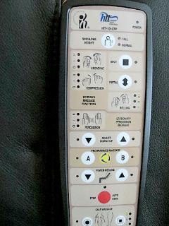 Shiatsu Massage Chair Control