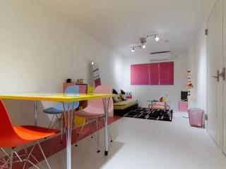 Colorful Pop Bob's Suite Cozy Room, Osaka