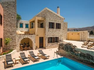 Phaistos Villas - Villa Kastalia. Tranquil, with uninterrupted views and pool.