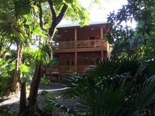 Beautiful new lodge at tranquil Cocolobo, West End