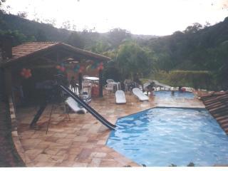 sitio com 24000metros piscina quadras casa
