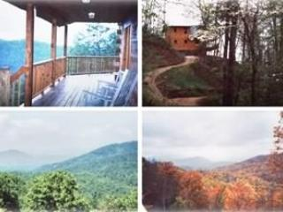 Beautiful Log Cabin-Private Setting-Wifi -Hot Tub-Awesome Views