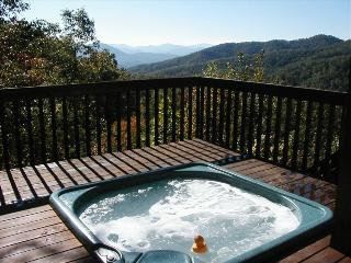 Beautiful Log Cabin-Private Setting-Wifi -Hot Tub, Bryson City