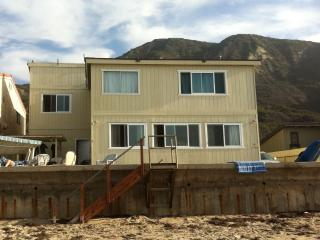 Ocean front Beach Vacation Rental at Faria Beach, Ventura