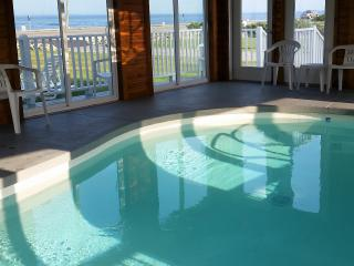 OCEAN VIEW COTTAGE - SPLASH IN INDOOR HEATED POOL