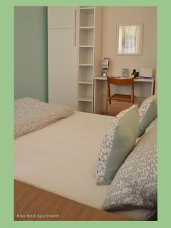 Blue Nest Apartment - Torbole Lake Garda - Lounge with Double Bed Sofa