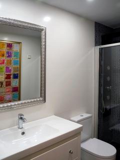 Apartamento MARRAKECH_Baño principal con ducha de hidromasaje
