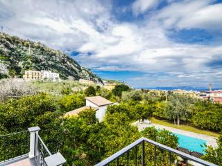 Private terrace, Sorrento, Appartamento il Giardino A, pool, wifi, free parking