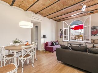 Ático con terraza en el centro de Barcelona