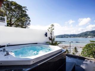 Atika Villas villa5 oceanfront serviced pool/spa, Patong