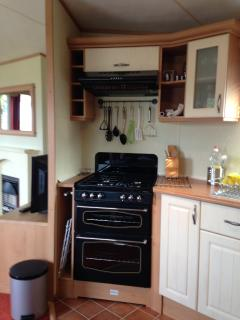 Oven/hob extractor and light.