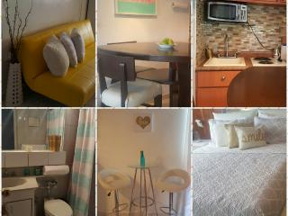 Cozy beach studio close to airport, beach, malls!